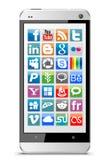 Mobile phone vector Stock Photo