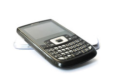 Mobile Phone. On white background Royalty Free Stock Image