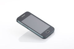 Mobile phone. On white background Stock Photos