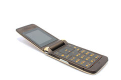 Mobile phone. On white background Royalty Free Stock Images