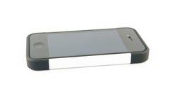 Mobile phone on white Royalty Free Stock Photo