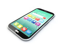 Mobile phone wireless communication technology and mobility busi Stock Photos