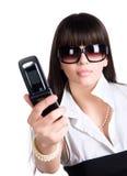 mobile phone woman Στοκ φωτογραφίες με δικαίωμα ελεύθερης χρήσης