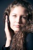 mobile phone woman young Στοκ φωτογραφία με δικαίωμα ελεύθερης χρήσης