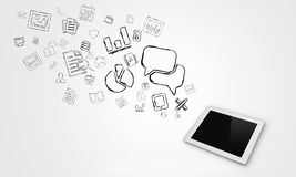 Mobile phones business Stock Images