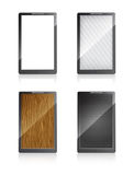 Mobile phones with different screens Royalty Free Stock Image
