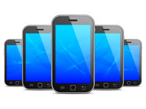 Mobile phones. Royalty Free Stock Image