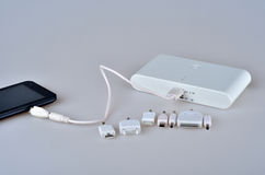 Mobile power supply Stock Images