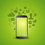 Mobile Productivity vector illustration