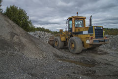 Mobile quarry Royalty Free Stock Photos