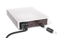 Mobile rack (portable hdd box) Royalty Free Stock Photography