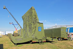 Mobile radar complex Stock Image
