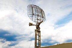 Mobile radar station Royalty Free Stock Photos