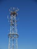 Mobile radio base tower Stock Photos