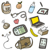 Mobile Related Items Stock Image