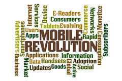 Mobile Revolution Stock Photo