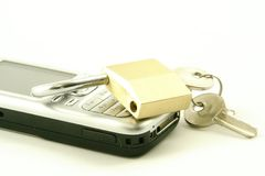 Mobile Security Stock Image