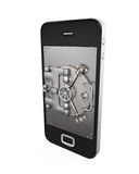 Mobile Security Concept Royalty Free Stock Images