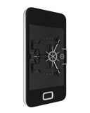 Mobile Security Concept Stock Photography