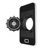 Mobile Security Concept Royalty Free Stock Photos