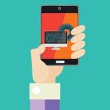 Mobile service Stock Photo