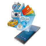 Mobile services Stock Images