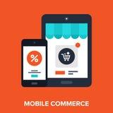 Mobile Shopping Royalty Free Stock Image