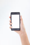 Mobile smart phone in hand 1 Royalty Free Stock Image