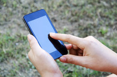 Mobile smart phone. Royalty Free Stock Images