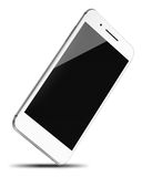 Mobile smart phone isolated on white. Stock Photography