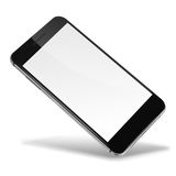 Mobile smart phone isolated on white. Stock Photo