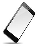 Mobile smart phone isolated on white. Stock Photos