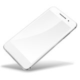 Mobile smart phone isolated on white. Royalty Free Stock Photo
