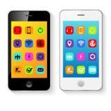 Mobile Smart Phones Vector Illustration Stock Image