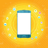 Mobile Smartphone Concept Stock Images