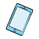 Mobile smartphone technology Stock Images