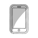 Mobile smartphone technology Stock Photography