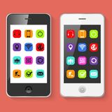 Mobile Smartphones Vector Illustration Royalty Free Stock Image