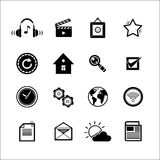 Mobile Social Media Icons Stock Images