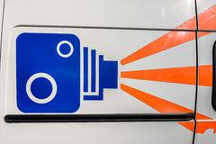 Mobile Speed Camera Royalty Free Stock Photography