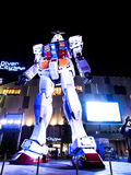 Mobile Suit Gundam model, Tokyo, Japan Royalty Free Stock Photos