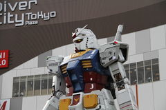 Mobile Suit GUNDAM RX-78,robot,japanese Royalty Free Stock Photography