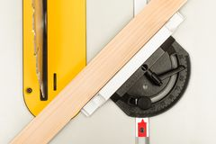 Mobile table saw royalty free stock photography