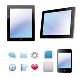 Mobile and tablet computer Stock Image