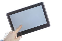 Mobile tablet Stock Photography