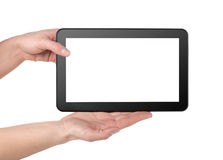 Mobile Tablette lizenzfreie stockbilder