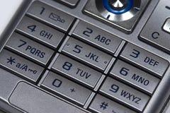 Mobile Tastatur Lizenzfreie Stockfotografie
