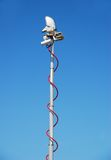 Mobile telecom antenna Stock Photo