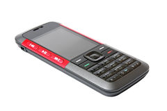 Mobile telephone. Mobile telephone on a white background Royalty Free Stock Photography
