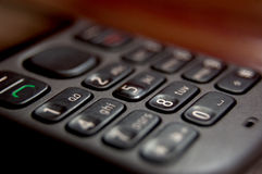 Mobile Telephone Macro Royalty Free Stock Image